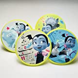 Vampirina Cupcake Toppers Rings Birthday Party Supplies Favors - Set of 16