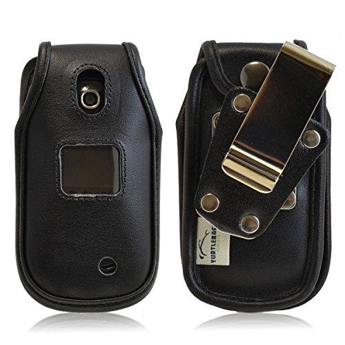 Turtleback LG Revere 3 VN170 Fitted Black Leather Case, Rota