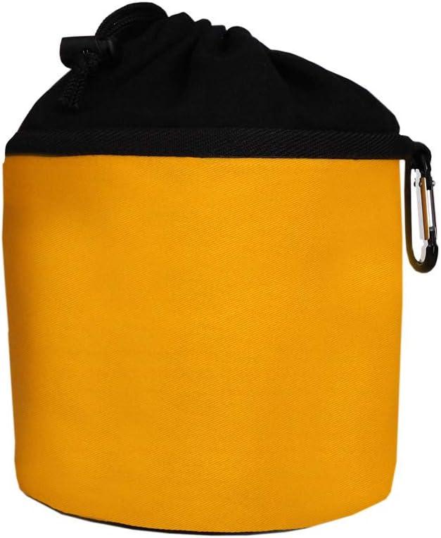 Trendfinding W/äscheklammerbeutel aus Baumwolle zum Aufh/ängen Klammerbeutel mit Karabinerhaken Creme