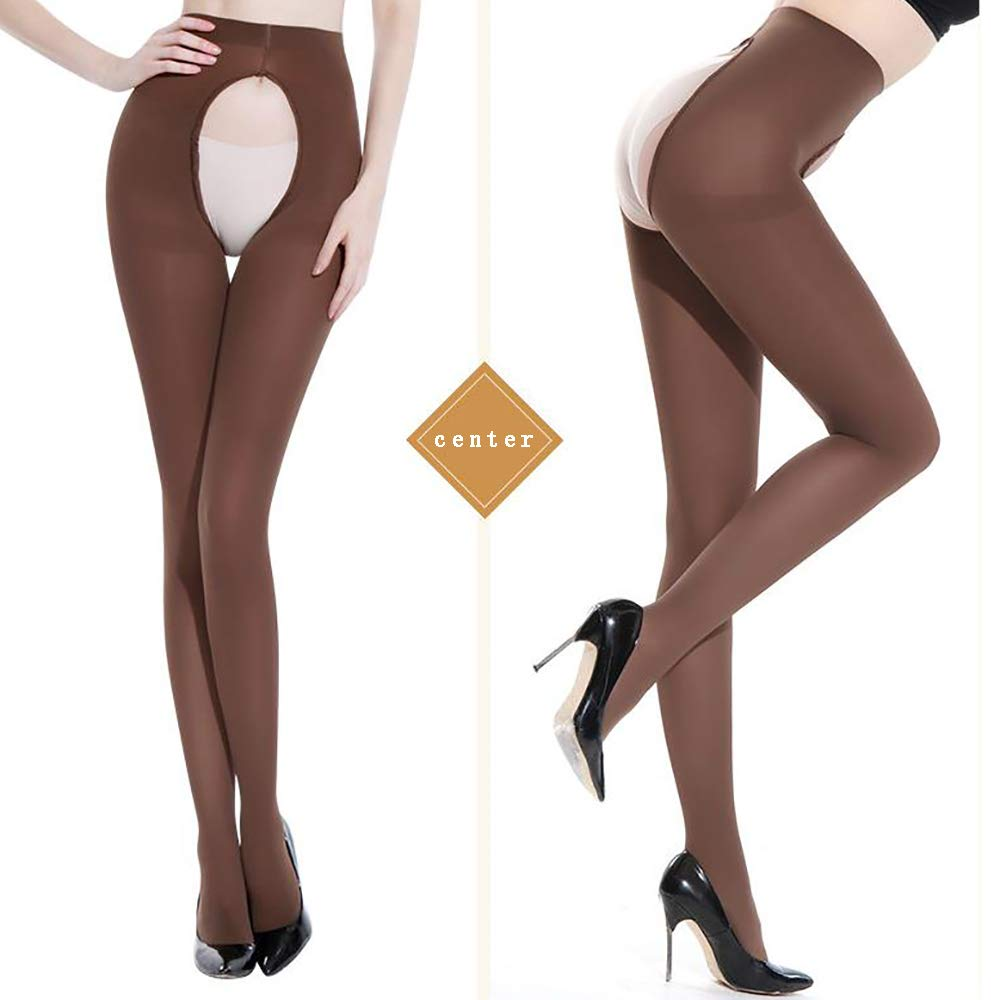 0fac16272e870 THICKNESS: 120 Denier Semi opanque ♥ STYLE: Crotchless control top pantyhose  ♥ FEATURE: Sheer push-up the buttocks and satin touch gloss effect