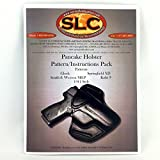 Leather Pancake Holster 5 Pack Holster Patterns/Instructions