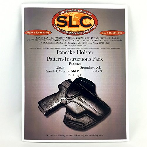 - Leather Pancake Holster 5 Pack Holster Patterns/Instructions