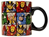 marvel grid mug - Silver Buffalo MV9134 Marvel Comics Grid Jumbo Ceramic Mug, 20-Ounces