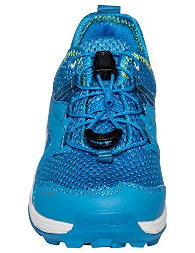 VAUDE Kobuk, Zapatos de Low Rise Senderismo Unisex Niños Azul (Glacial Stream)