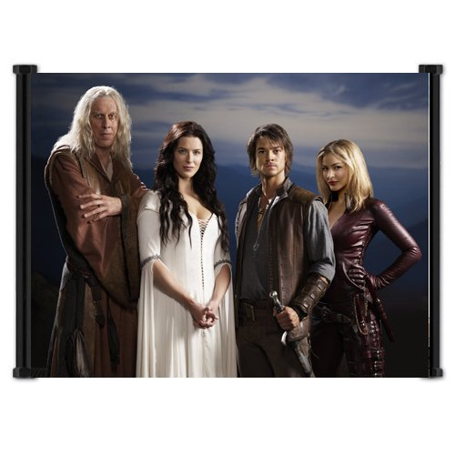 Legend of the Seeker TV Show Fabric Wall Scroll Poster (21