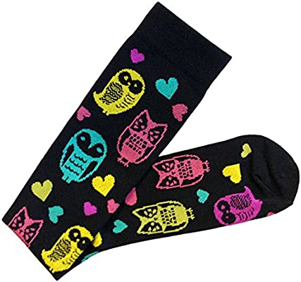 42acdfcaea Amazon.com: Prestige Medical Fashion Compression Socks, Owls Black: Health  & Personal Care