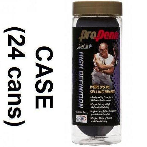 PURPLE PRO PENN HD RACQUETBALL 3/CN (case)