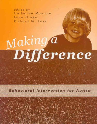 Making a Difference: Behavioral Intervention for Autism