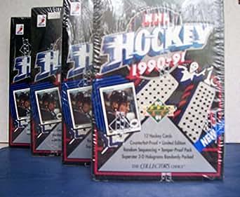 4 -1990-91 UPPER DECK HOCKEY SERIES 1 FACTORY SEALED BOXES- JAGR & 172 ROOKIES !