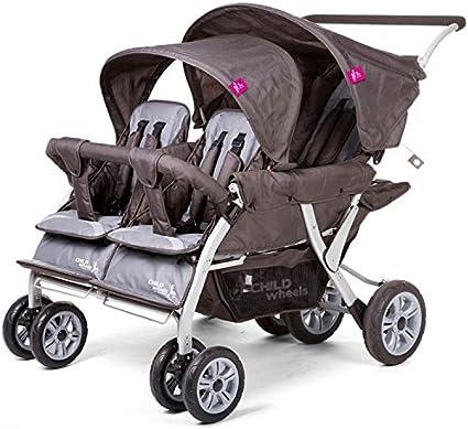 KADOLIS - Poussette quadruple Childwheels: Amazon.fr: Bébés