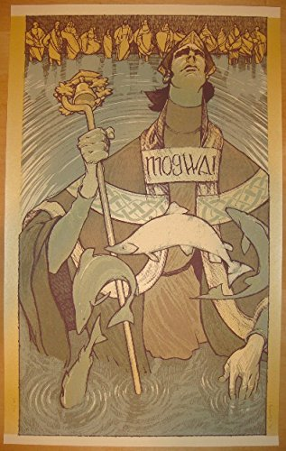 2011 Mogwai - Albuquerque Concert Poster by Rich Kelly