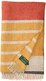 Biddy Murphy Wool Throw Blanket Merino Wool Blanket Made in Ireland Lambswool Throw Wool Blanket Merino Wool T