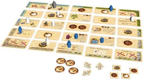 Kosmos 691479 - Targi Hitziges Spiel für Zwei um Datteln, Salz und Pfeffer, Brettspiel