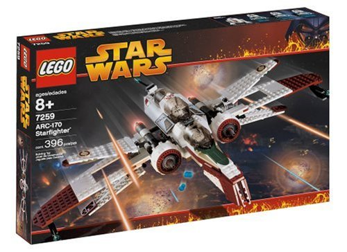 LEGO Star Wars ARC-170 Starfighter (Arc 170 Star Clone Wars)