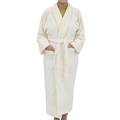 c8c5c1fea0 Classic Terry Cloth Bath Robe - Unisex Spa Hotel Quality Robes for Men or  Women