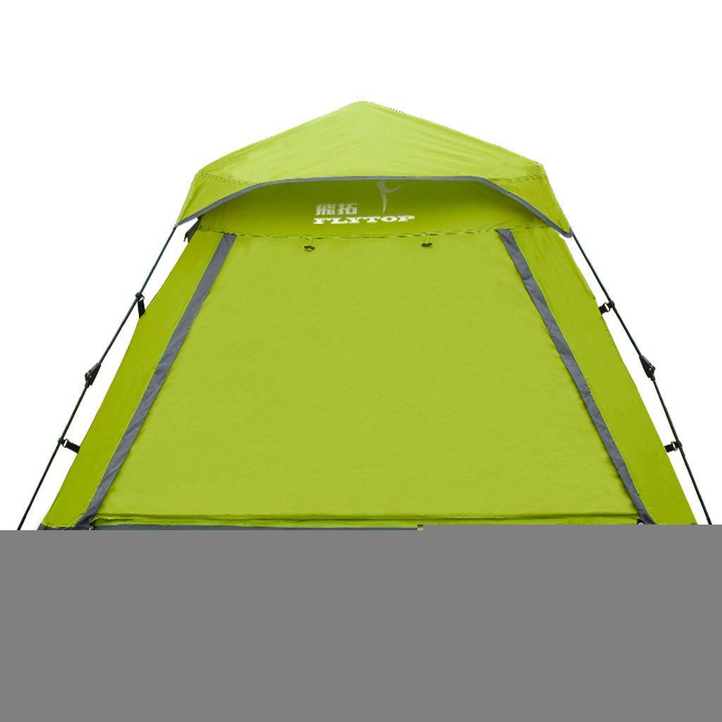 Outdoor-Camping-Zelt im Freien Personen 3-4 Personen 2 Doppel automatische regen Camping Familiencampingzeltwiese
