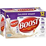 Boost Calorie Smart Balanced Nutritional Drink, Vanilla Delight, 8 fl oz Bottle, (pack of 24)
