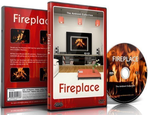 Fire DVD - Fireplace 2012 - 2 Hours of Extra Long Fireplaces - with the Burning Wood Sounds