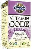 Garden of Life Vitamin Code® - Zinc, 60 Capsules