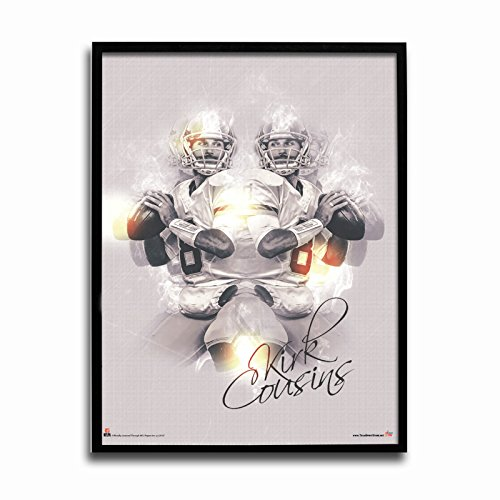 "NFL Washington Redskins Kirk Cousins Reflections 24 x 18"" Poster"