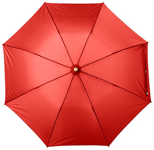 century-star-automatic-lovely-compact-foldable-portable-travel-sun-rain-umbrella-red