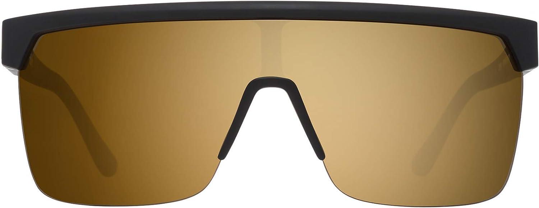 HD Plus Bronze with Gold Spectra Mirror Flynn 5050 25 Anniv Matte Black Gold