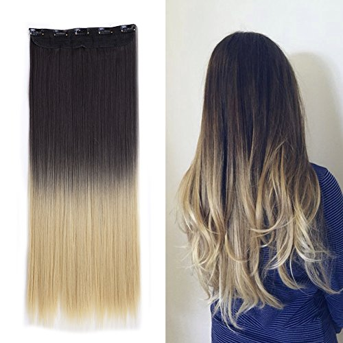 Save 57 Clip In Hair Extensions Ombre Dip Dye Color