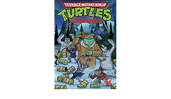 Teenage Mutant Ninja Turtles Adventures Vol. 16 (English ...