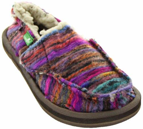 Sanuk Kids Toasty Toes-V Slip-On (Toddler/Little Kid),Pink/Multi,11 M US Little Kid