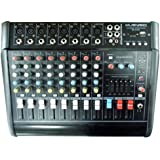 8 Channels 2000 Watts Professional Power Mixer Amplifier With USB/SD SLOT KARAOKE PA SYSTEM