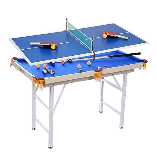 Mesa de billar YYX 2-en-1 Juego de combinación de Mesas de ...