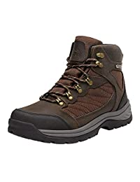 NORTIV 8 Men's Waterproof Hiking Boots Mid Ankle Hiker Mountaineering Trekking Backpacking Boots