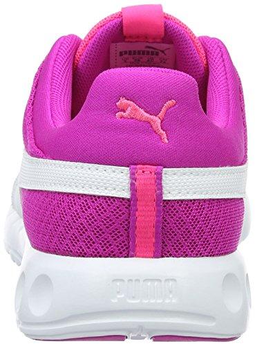 Puma Basse Ginnastica Runner White Mesh knockout bambini 400 Rosa Unisex Carson Da Jr 04 Pink Scarpe puma rCx4rw