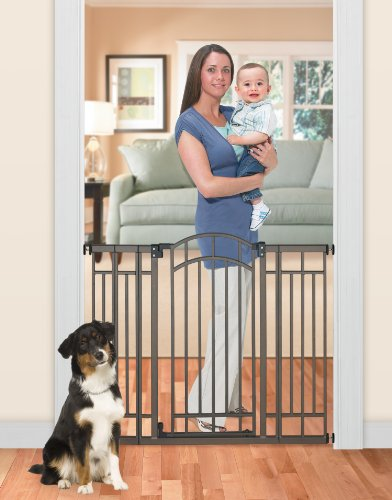 012914076002 - Summer Infant Multi-Use Deco Extra Tall Walk-Thru Gate, Bronze carousel main 3