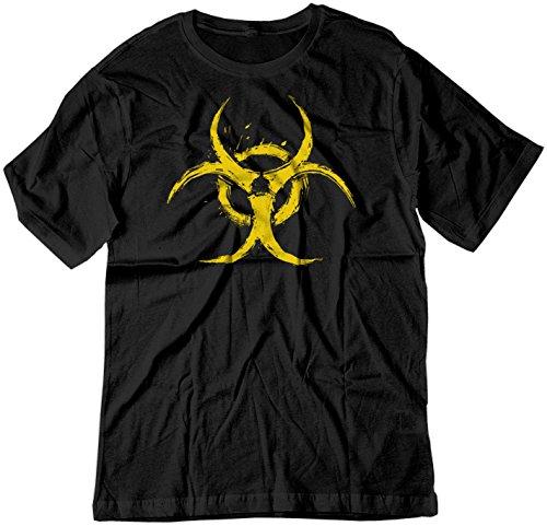 Price comparison product image BSW Youth Biohazard Grunge Paint Splatter Biological CDC Shirt LRG Black