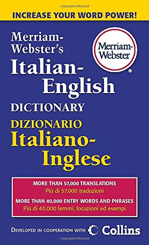 Merriam-Webster's Italian-English Dictionary (Italian and English Edition)