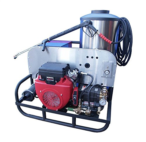 CB Series 24 HP Oil Fired Hot Water Pressure Washer by Cam Spray