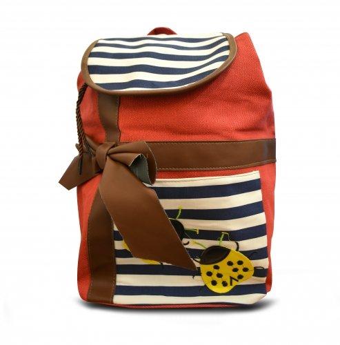 Non Branded Stripe Bug Backpack