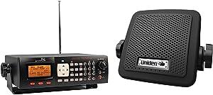 Whistler WS1065 Desktop Digital Scanner & Uniden (BC7) Bearcat 7-Watt External Communications Speaker