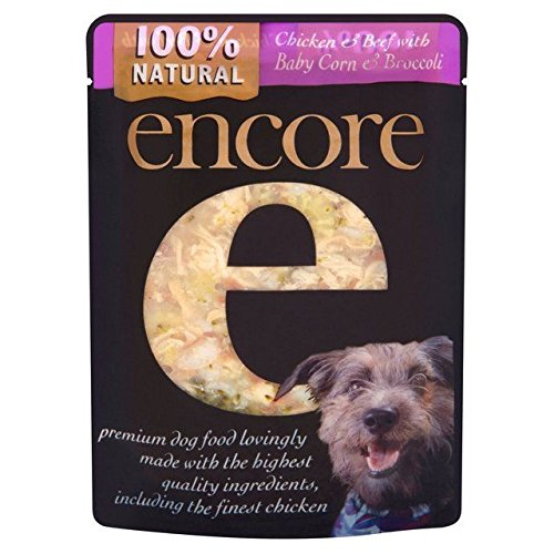 Encore Chicken & Beef Dog Pouch 150g (PACK OF 6) delicate