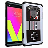 LG G6 Case, DURARMOR [Drop Protection] LG G6 Armor Case with Resilient Shock Absorption and Game Controller Design Hybrid Case Cover for LG G6 2017, Vintage Nintendo NES Game Controller For Sale