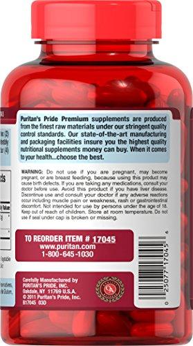 Puritan's Pride Q-SORB Co Q-10 Plus Red Yeast Rice-120 Rapid Release Softgels by Puritan's Pride (Image #3)