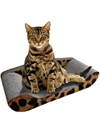Kitty Sofa Deluxe   The Best Modern Corrugated Cardboard Cat Scratcher    The Perfect Scratching Mat