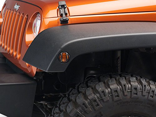 Barricade Side Marker Guard in Textured Black – Jeep Wrangler JK 2007-2018