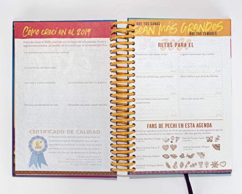 Amazon.com : Agenda Pechi 2020 Caminos - (Planner in Spanish ...
