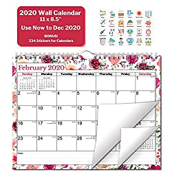 Image of the product Wall Calendar 2020 Floral that is listed on the catalogue brand of CRANBURY.