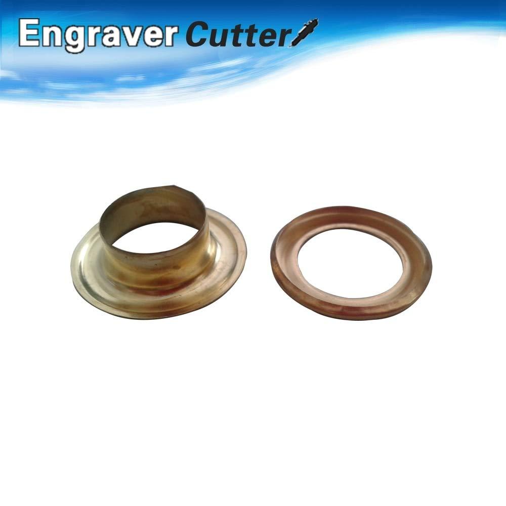 Ochoos 5#(12mm) Golden Iron Grommet for Heavy Duty Hand Press Grommet Machine, 20,000pcs/carton