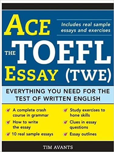 answers to all toefl essay questions doc Free download answers to all toefl essay questions pdf synopses & reviews publisher comments: ets publishes its official list of toefl essay topics on.