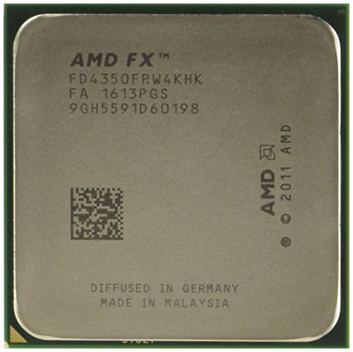 AMD FX 4350 Unlocked Quad Core Processor 4.2 4 FD4350FRHKBOX, Black Edition by AMD (Image #1)