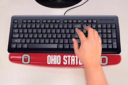 Fanmats 17737 Ohio State University Gel Keyboard Wrist - Office State Supplies Ohio